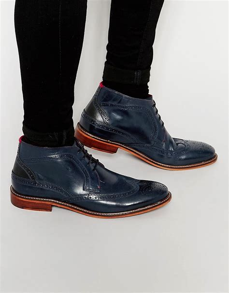 ted baker ted baker pericop brogue boots in black