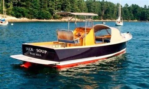 duck boat jet drive 2012 brooklin boat yard custom jet drive launch power boat