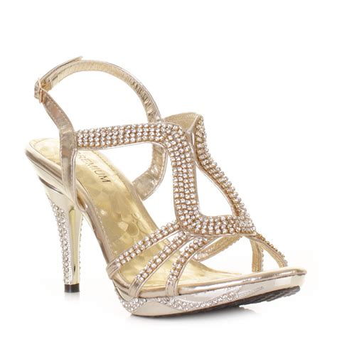 cheap gold high heel shoes gold strappy sandals inexpensive gold strappy heels