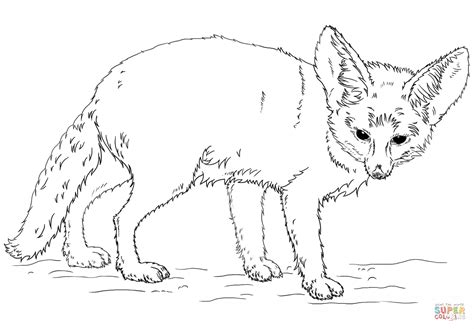 realistic fox coloring page realistic fox pages coloring pages