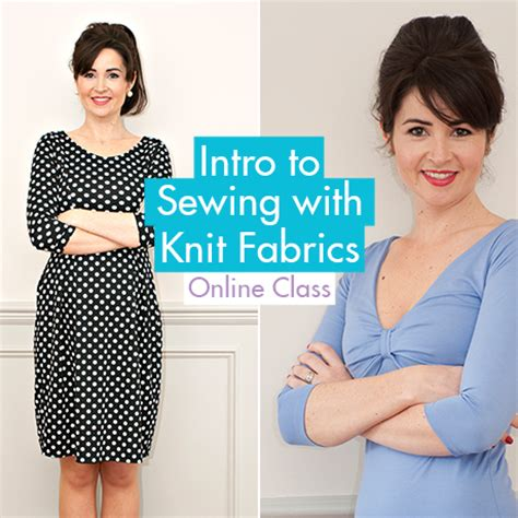 sewing with knits sew it intro to sewing with knit fabrics