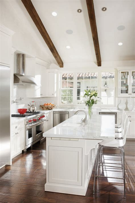 All White Kitchen Designs 21 Beautiful All White Kitchen Design Ideas