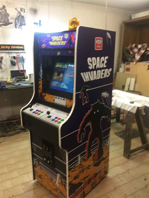 cabinato arcade videogame cabinato space invaders custom artwork nintendo