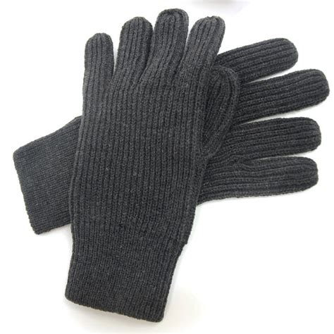 mens knit gloves thermal gloves s heavy knit ribbed warm thermal