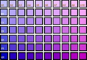 purple color chart purple color chart www pixshark images galleries