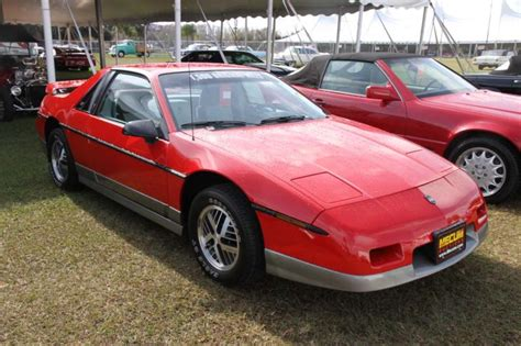 1984 Pontiac Fiero by 1984 Pontiac Fiero Indy Pace Car Values Hagerty
