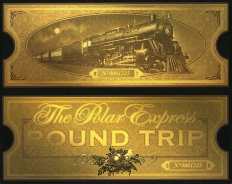 printable polar express tickets 17 best images about polar express on pinterest polar