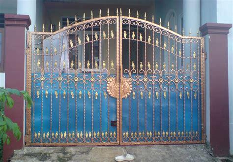 bengkel damai lestari pagar pagar dorong gerbang