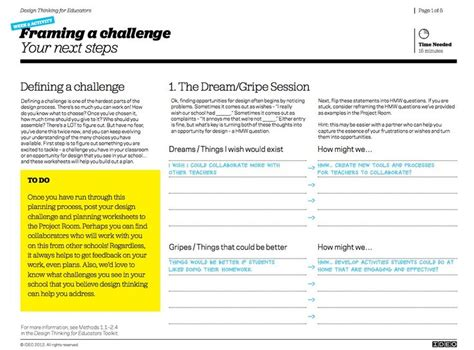 design thinking challenges 36 best design thinking for kids images on pinterest