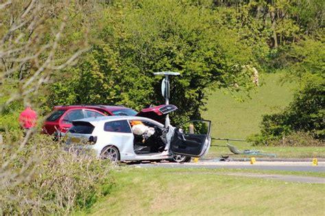 car crash south wales porthcawl car crash on a4106 wales