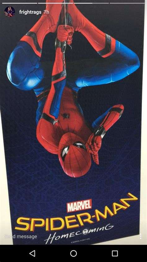 libro hero homecoming hardcover first look at poster for spider man homecoming photo