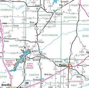 adobe walls map hutchinson county 1