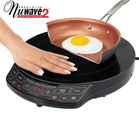 Induction And Gas Cooktop Combination Nuwave Pic2 Precision Induction Cooktop As Seen On Tv