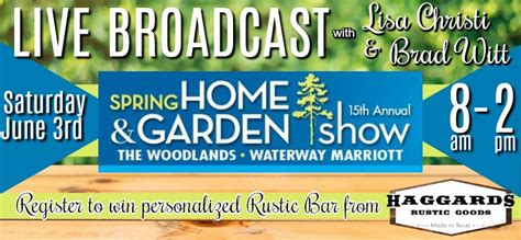 woodlands home and garden show