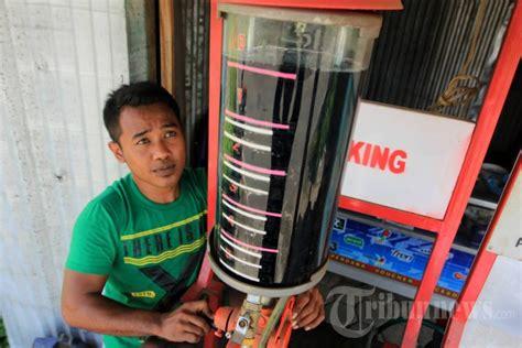 Minyak Lintah Di Semarang pengisian bbm pertamini di semarang foto 2 1667235 tribunnews