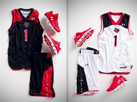 design jersey under armour paul lukas on texas tech basketball basketball uniforms