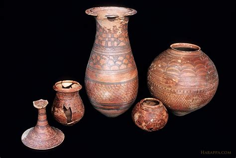 images of pottery painted burial pottery