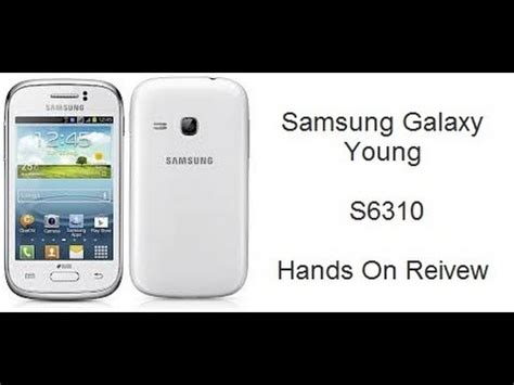 Handphone Samsung Galaxy S6310 samsung galaxy duos on reivew s6310 features and specfiications