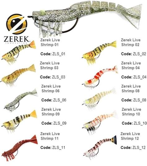 "ZEREK LIVE SHRIMP 3.5""   Anglers Warehouse"
