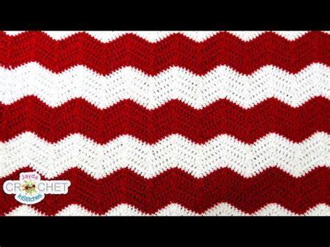 how to zig zag crochet afghan pattern download video crochet chevron ripple zig zag wave