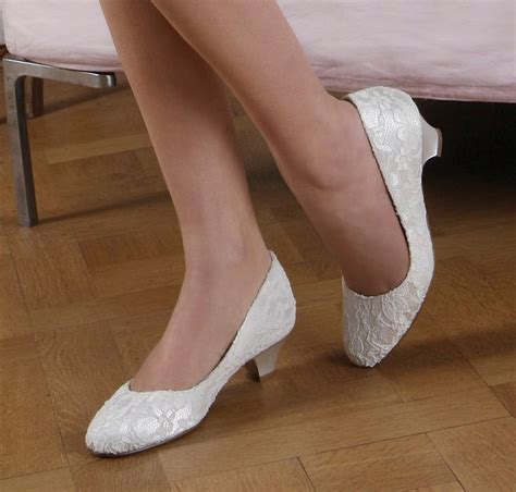 Bridal Slippers With Heel by 25 Best Ideas About Lace Wedding Shoes On