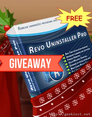 Revo Uninstaller Pro Giveaway - free revo uninstaller pro full version license giveaway geekiest net