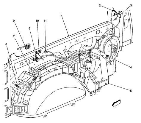 2004 tahoe rear blower motor resistor blower motor resistor relay 2001 chevy tahoe html autos post
