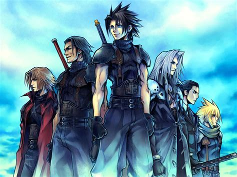 film final fantasy vii crisis core ffvii crisis core wallpaper final fantasy wallpaper