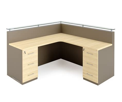 l shaped counter office furniture design renderworx 3d visualisation cape