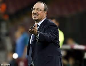 Napoli The Not So Weekly Wino by Napoli 2 4 Lazio Rafa Benitez S Farewell Ends In Despair
