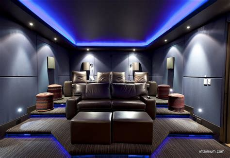 home theater design lighting intainium home cinemas home theater toronto by