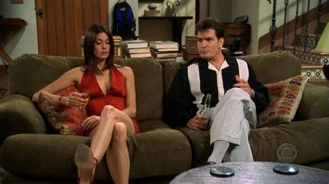 Liz Hurley And Teri Hatcher by What Happened To The Of Two And A Half