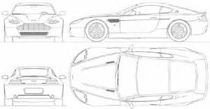 Aston Martin Vantage Dimensions Aston Martin V8 Vantage 2004