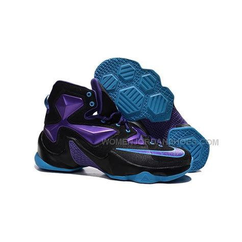 cheap basketball shoes size 13 cheap nike lebron 13 black pueple blue size 8 12