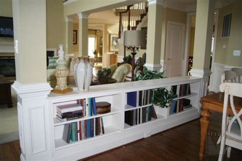 Half Wall Bookcase Room Divider bookcase room divider half wall cool ideas for the