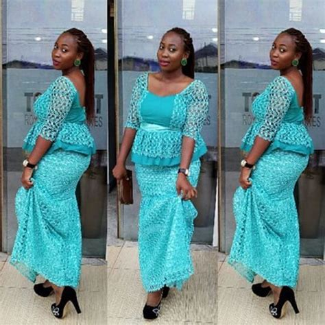 styles 4 asoebi blouse creative aso ebi skirt and blouse style dezango fashion