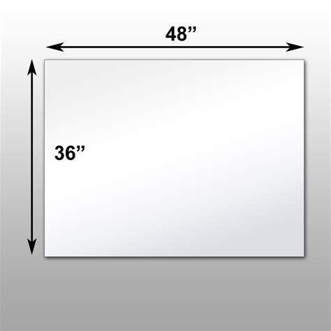 36 x 48 mirror mirrorlite 174 pfs optical grade glassless mirror 36 quot x 48 quot x