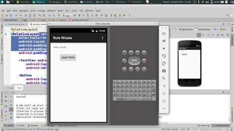 membuat game menggunakan android studio persiapan pemrograman android di linux menggunakan android