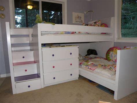 tete de lit flaxa toddler bunk beds that turn the bedroom into a playground
