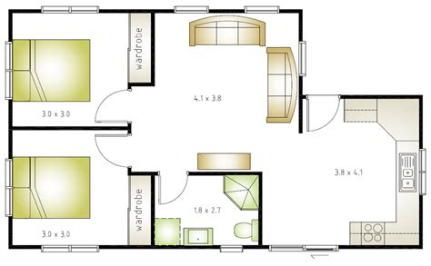 2 bedroom layout design granny flat layout grannyflatsolutions
