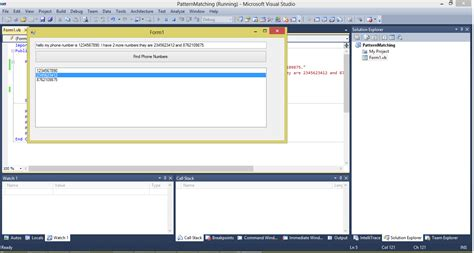 pattern regex vba how to do pattern matching in vb net free source code