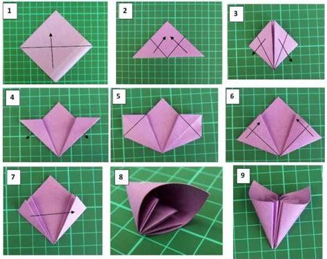 imagenes de flores origami paso a paso flor paso a paso papiroflexia origami