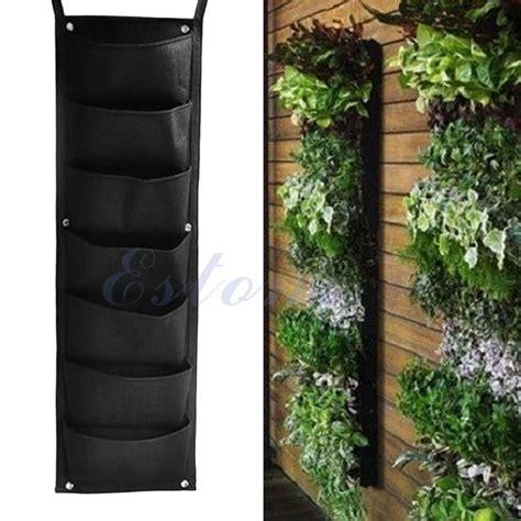 pocket hanging vertical garden planter indoor outdoor