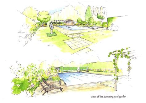 acres wild masterplan pool garden illustrations by acres ld master plans cortinas