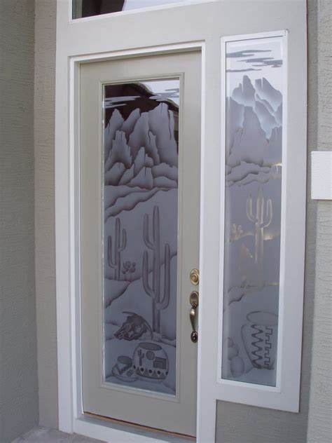 Etched Glass Custom Glass Etching And Frosted Window Custom Etched Glass Doors