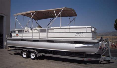 2007 used crest maurell sunset bay 25 pontoon boat for - Crest Maurell Pontoon Boats