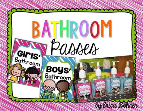 bathroom pass ideas 7 best bathroom pass images on classroom decor
