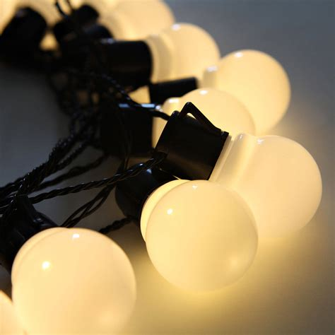 Lights Com String Lights Decorative String Lights White Globe String Lights