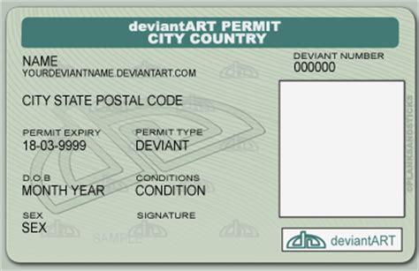Licence Template licence template by planksandsticks on deviantart