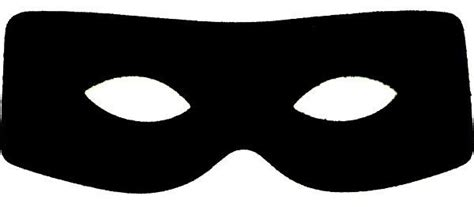 free printable zorro mask masks clipart burglar pencil and in color masks clipart
